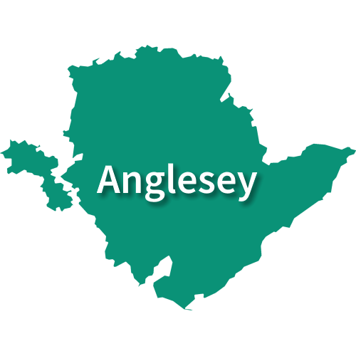 Map of Isle of Anglesey