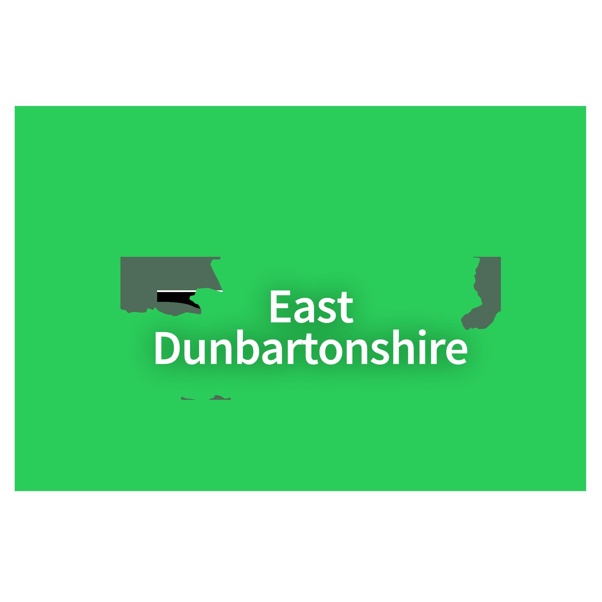 Map of East Dunbartonshire