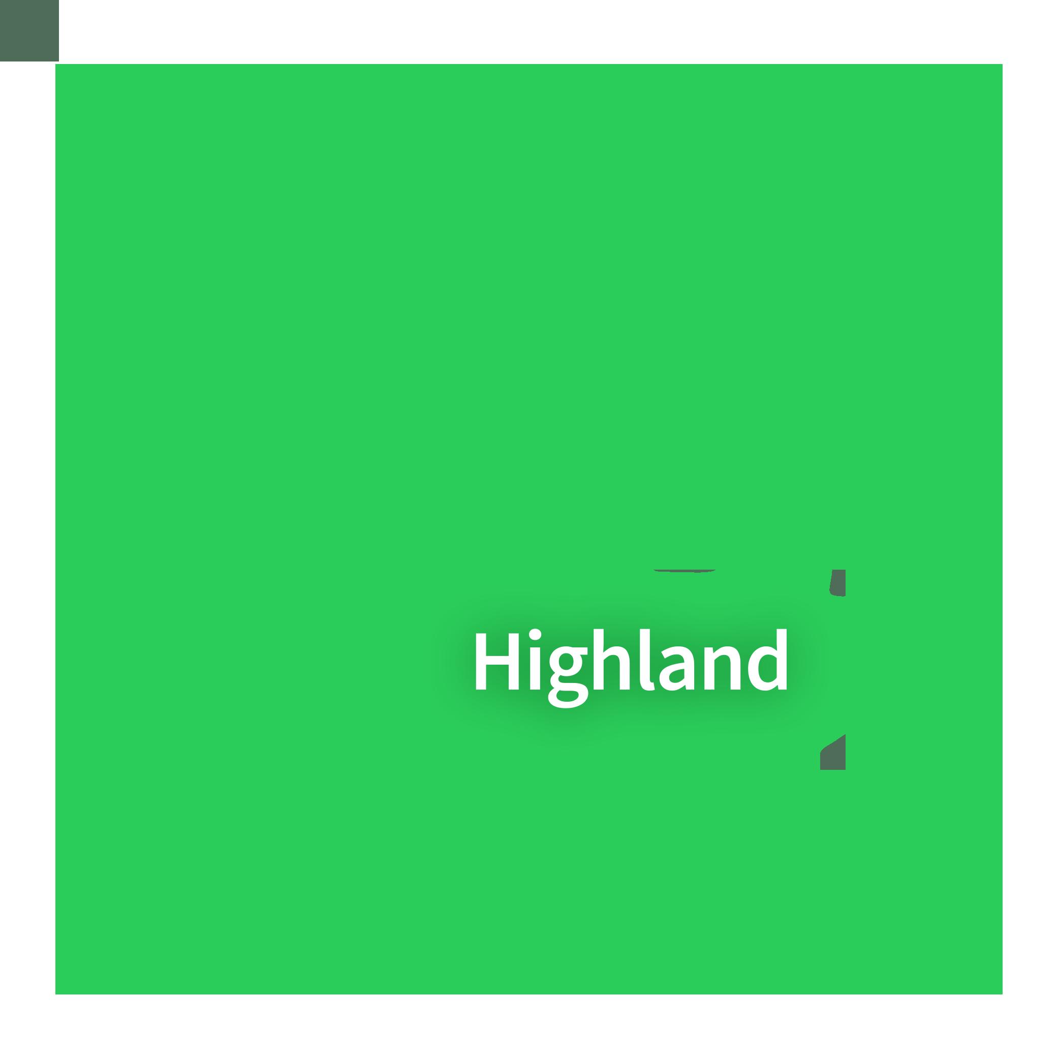 Map of Highland