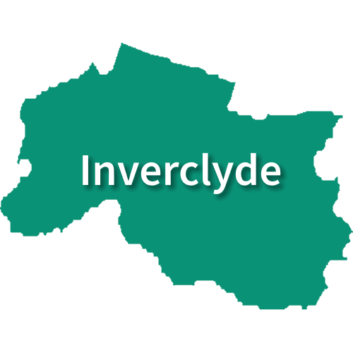 Map of Inverclyde
