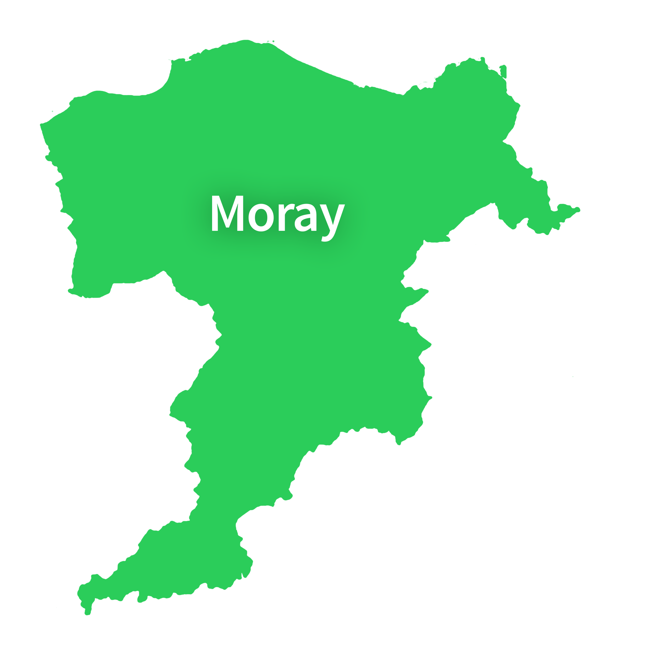 Map of Moray