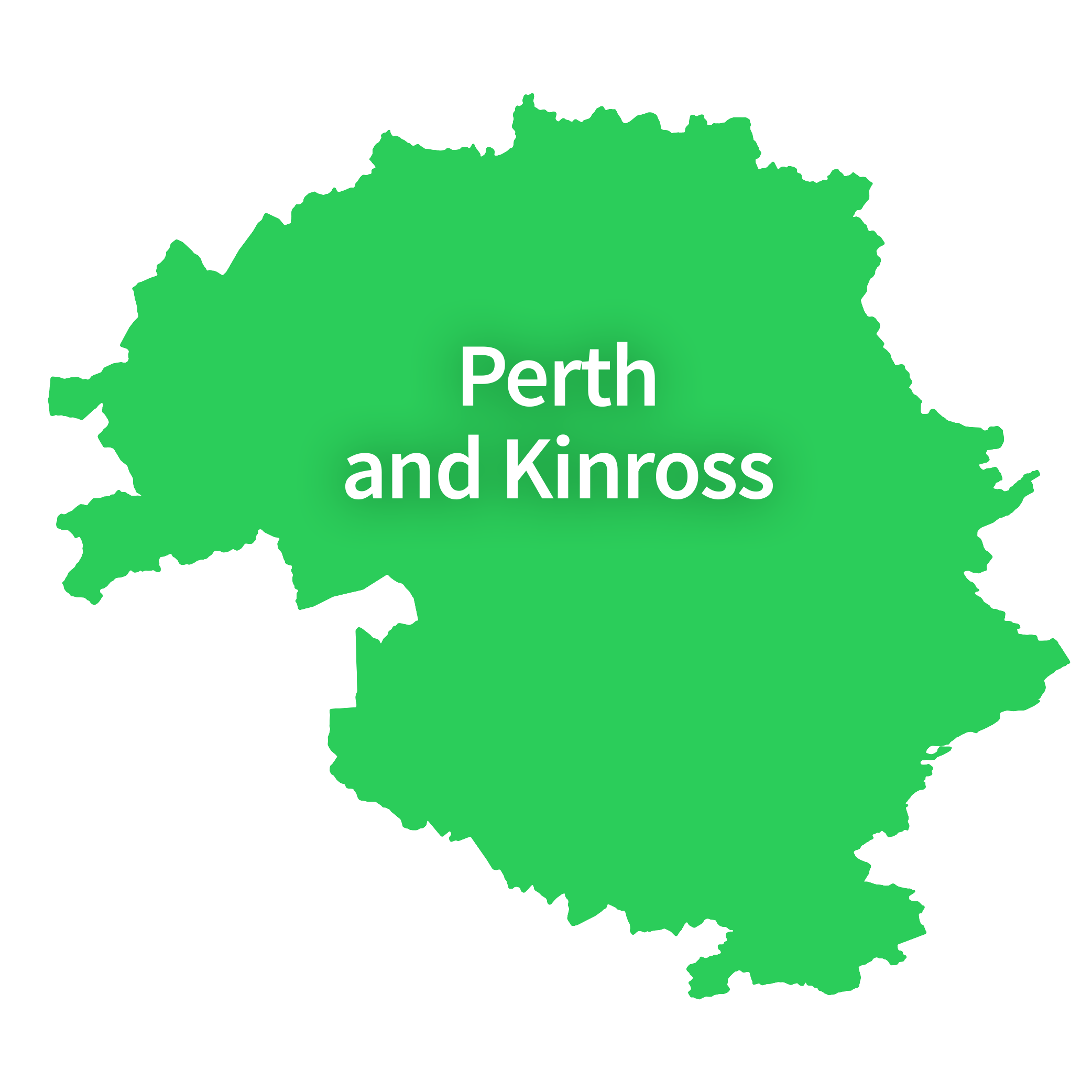 Map of Perth and Kinross