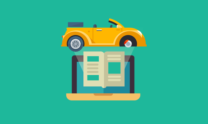 An illustration of driving law.
