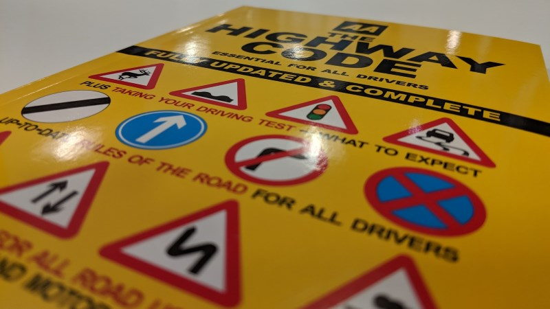 Copy of the Highway Code