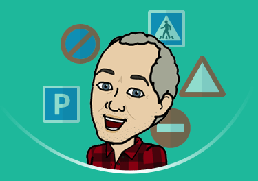 An illustration of PassMeFast driving instructor - Ged.