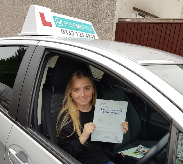 Pass photo of PassMeFast student Alisha - Merseyside