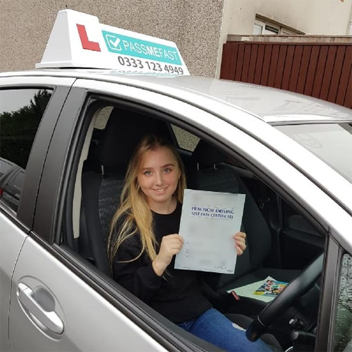 will i pass my driving test first time