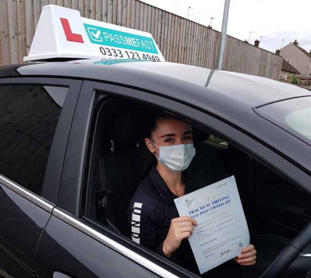Pass photo of PassMeFast student Ellie - Merseyside