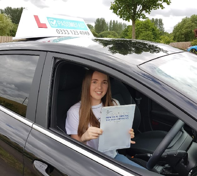 Pass photo of PassMeFast student Jessica - Greater Manchester