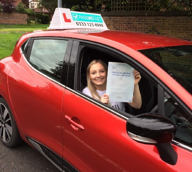 Pass photo of PassMeFast student Katie - Cheshire