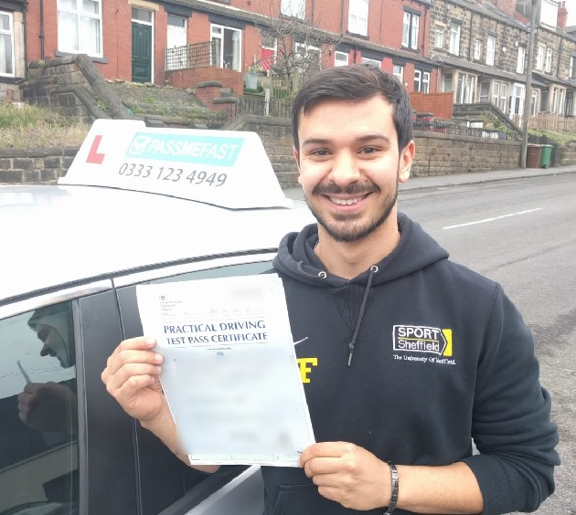 Pass photo of PassMeFast student Michael - East Yorkshire