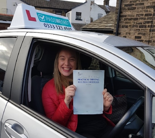 Pass photo of PassMeFast student Vikkie - Lancashire