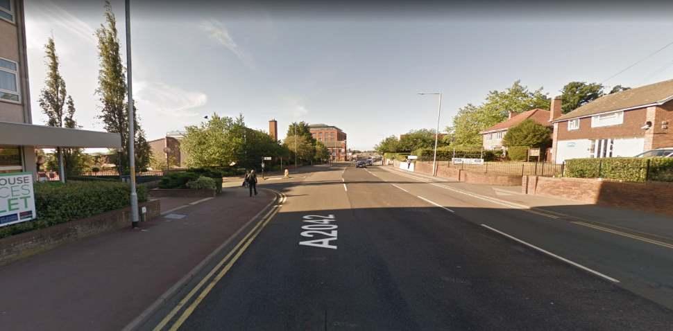 Ashford (Kent) Google Streetview Image A2042