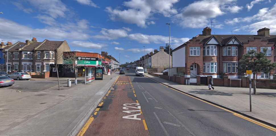 Barking (Tanner Street) Google Streetview Image Main Road