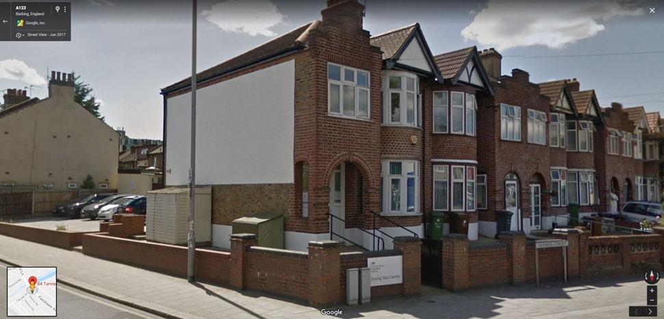 Barking (Tanner Street) Google Streetview Main Image