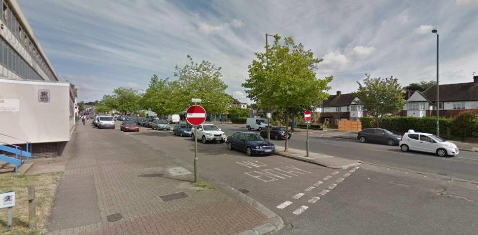 Barnet Google Streetview Image No Entry