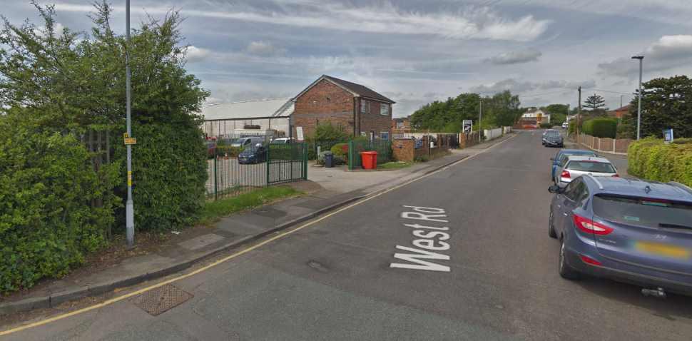 Barnsley Google Streetview Image Leading Road