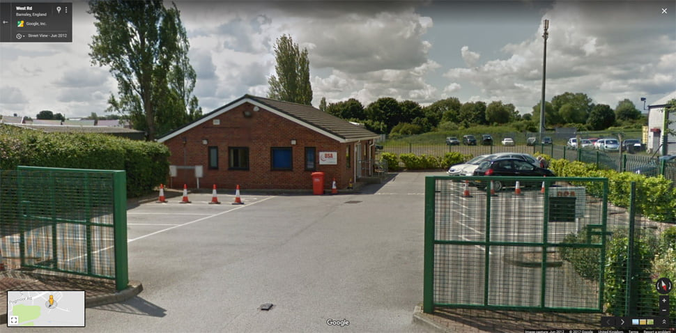 Streetview Image for Barnsley Test Centre