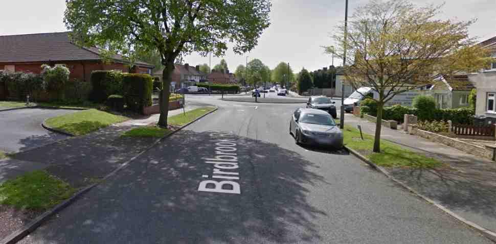 Birmingham (Kingstanding) Google Streetview Image Birdbrook Road