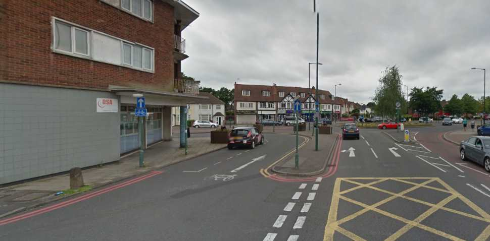 Birmingham (Shirley) Google Streetview Image Main Road