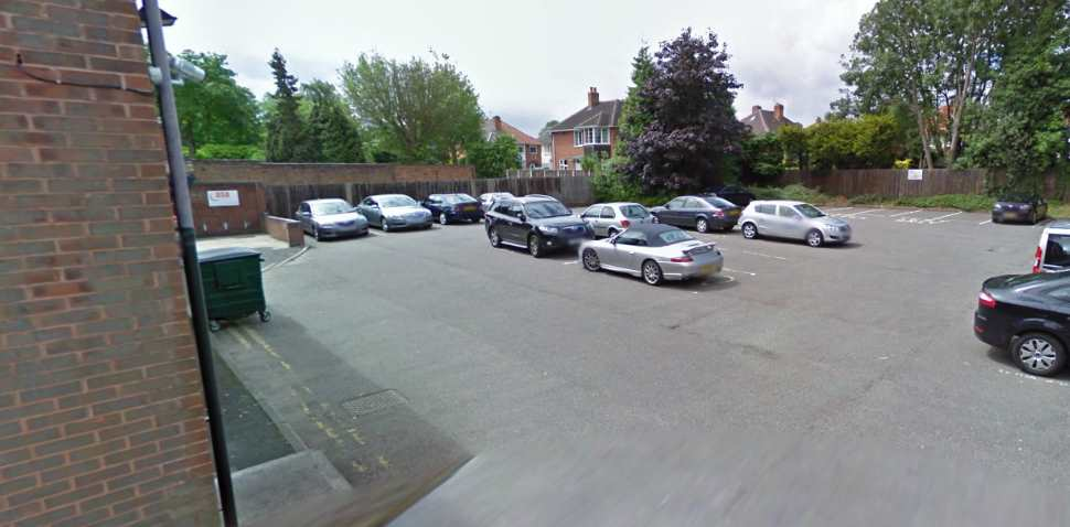 Birmingham (Sutton Coldfield) Google Streetview Image Parking