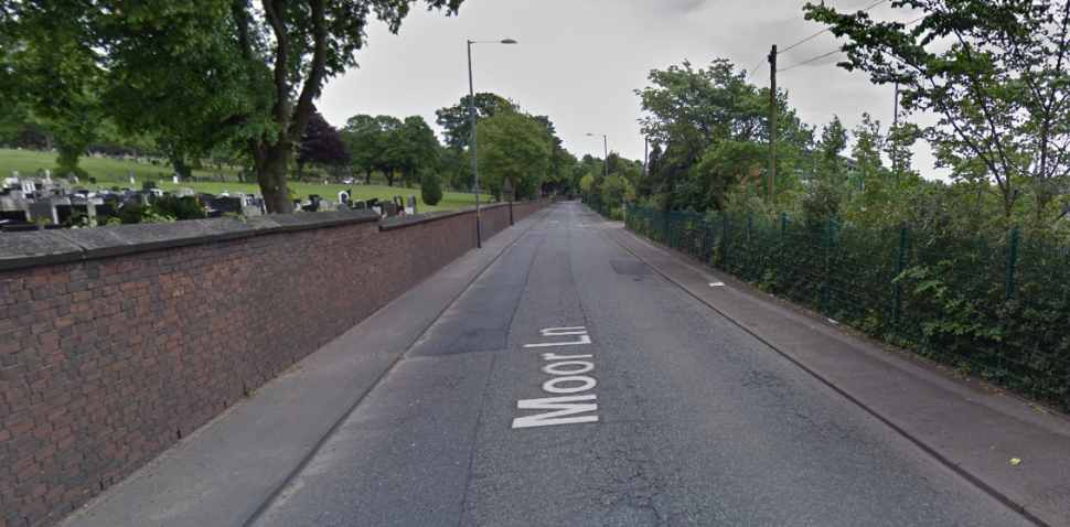 Birmingham (The Pavilion) Google Streetview Image Moor Lane