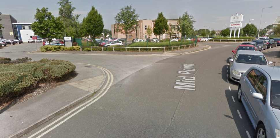 Bradford (Thornbury) Google Streetview Image Leading Road