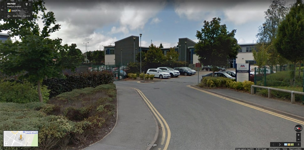 Streetview Image for Bradford (Thornbury) Test Centre