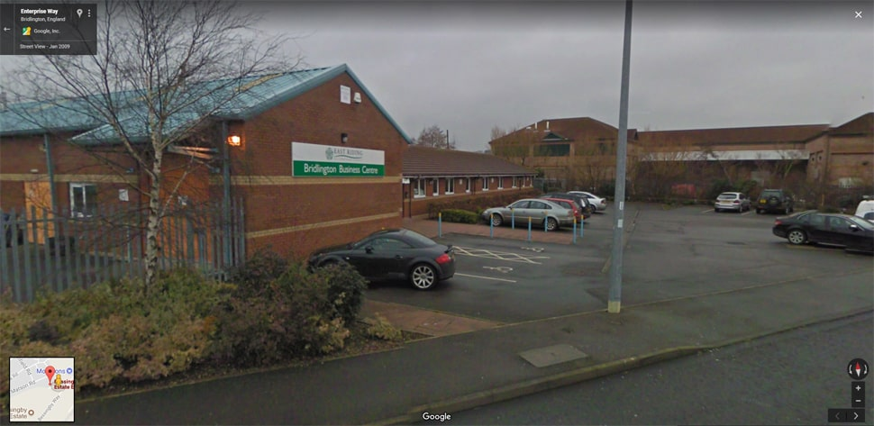 Streetview Image for bridlington Test Centre