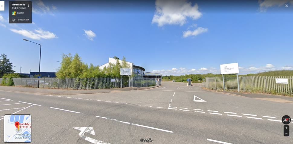 Streetview Image #1 for Bristol (Avonmouth) Test Centre