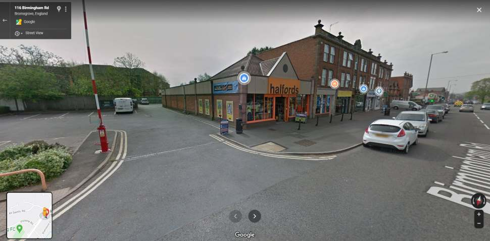 Streetview Image #1 for Bromsgrove Test Centre