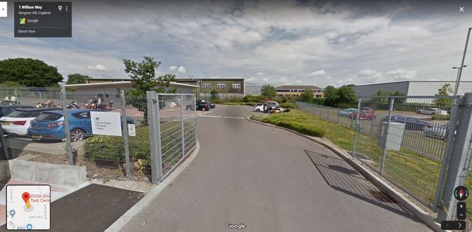 Streetview Image #1 for Burgess Hill Test Centre