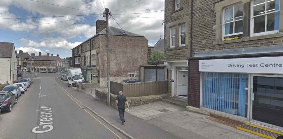 Buxton Google Streetview Image Junction