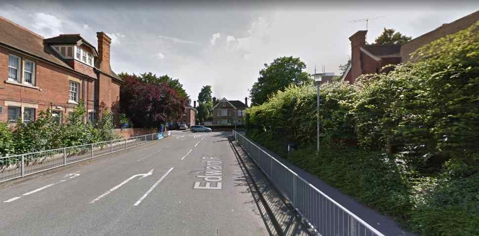 Canterbury Google Streetview Image Edward Road