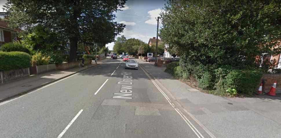 Canterbury Google Streetview Image New Dover Road