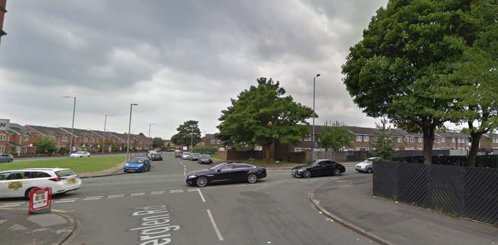 Cheetham Hill Google Streetview Image Crossroads