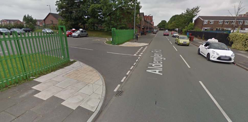 Cheetham Hill Google Streetview Image Entrance