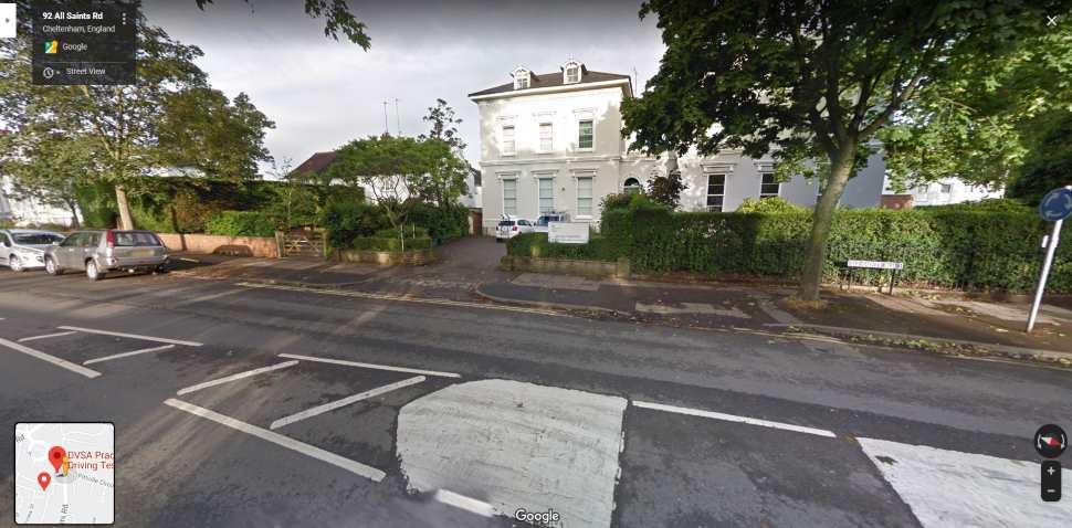 Streetview Image #1 for Cheltenham Test Centre