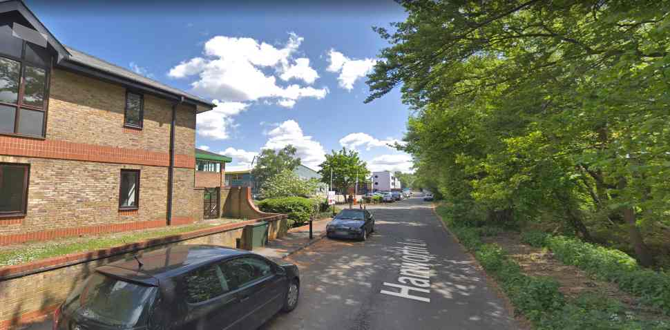 Chertsey Google Streetview Image Approach