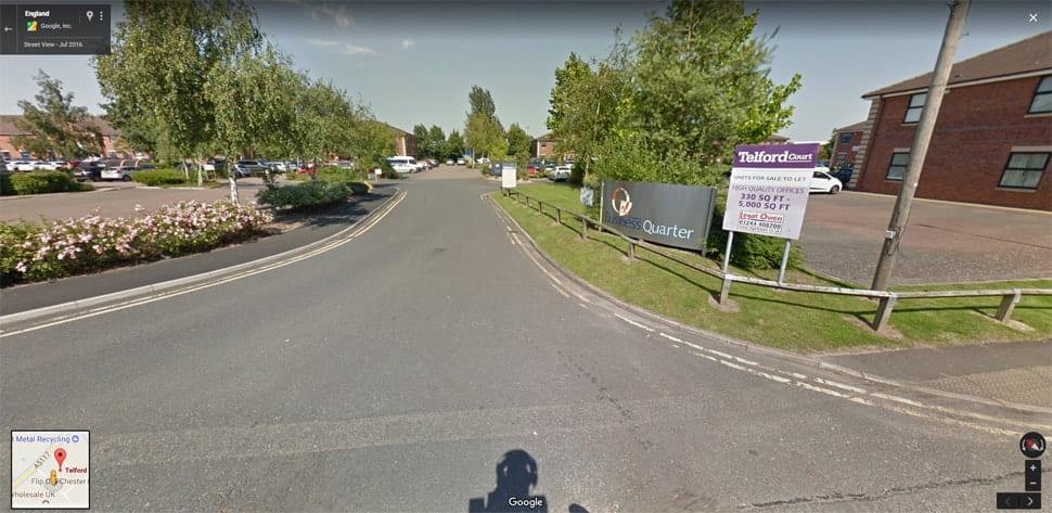 Chester Google Streetview Main Image