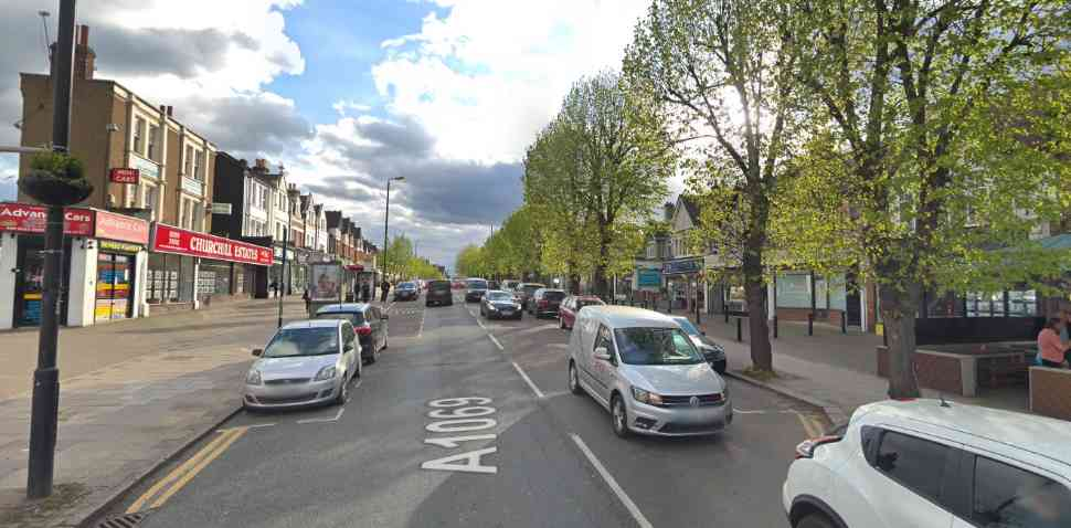 Chingford Google Streetview Image A1069