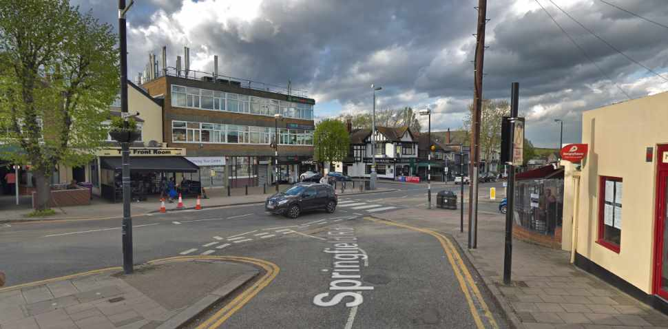 Chingford Google Streetview Image Springfield Road