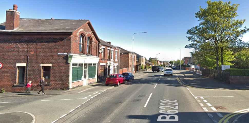 Chorley Google Streetview Image B6228