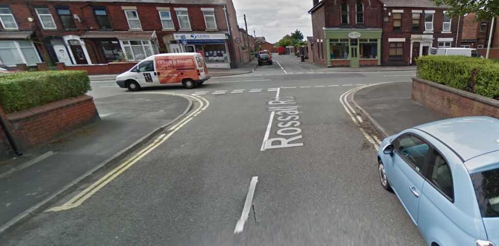 Chorley Google Streetview Image Crossroads