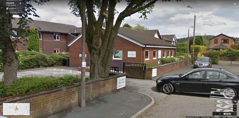 Chorley Google Streetview Main Image