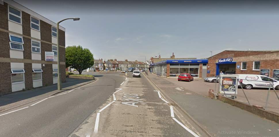 Clacton-on-Sea Google Streetview Image Approach