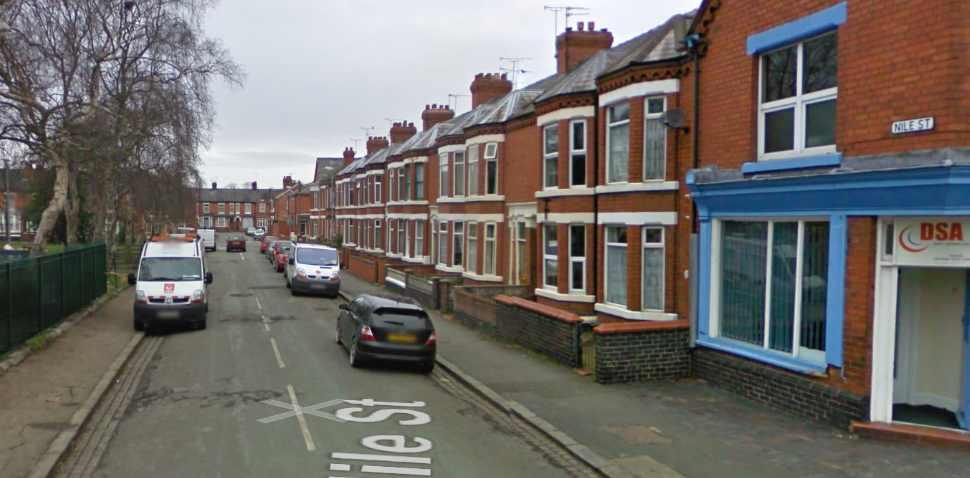 Crewe Google Streetview Image Nile St