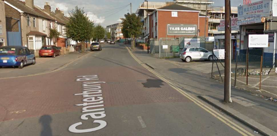 Croydon Google Streetview Image Canterbury Road