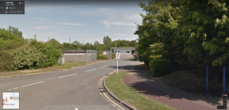 Streetview Image for Enfield (Innova Business Park) Test Centre