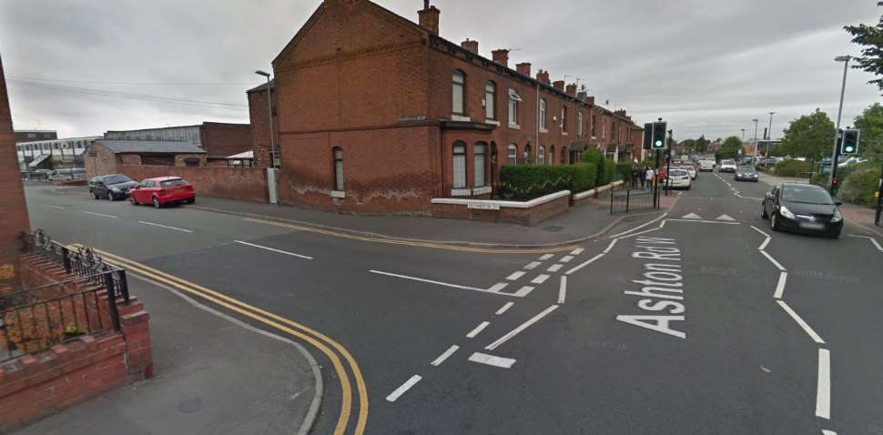 Failsworth Google Streetview Image Junction